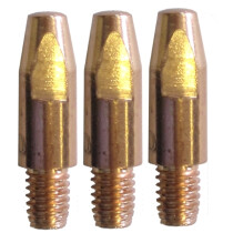 M2508-10 M25 MIG Contact Tip for 1.0mm steel wire (0.8mm aluminium) Packet of 25