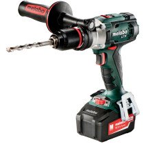 Metabo SB18LTX 18V Impuls Combi Drill with 2x 4.0Ah Batteries