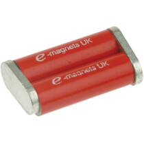 E-Magnets 805 Bar Magnet 20mm x 6mm Diameter (Pair) MAG805