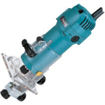 "Makita 3707F 1/4""Trimmer with light 3707F - 110v"