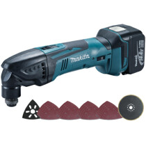 Makita DTM40RFX1 14.4V Oscillating Multi Tool with 23 accessories and 1x 3.0Ah Battery