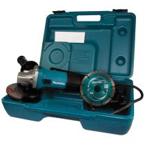 "Makita GA4530RKD 4.1/2"" 110V 720W (115mm) Angle Grinder with Diamond Blade in Case"
