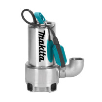 Makita PF1110/2 1100w Dirty Water Submersible Pump Stainless Steel 250L/min 240v