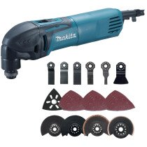 Makita TM3000CX3 320W Oscillating Multi Tool With 42 Accessories