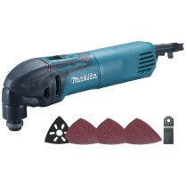 Makita TM3000CX4 110V 320W Oscillating Multi Tool With 33 Accessories