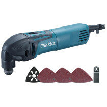 Makita TM3000CX4 240V 320W Oscillating Multi Tool With 33 Accessories