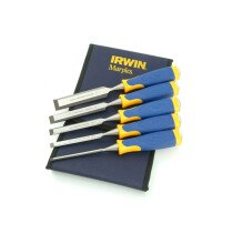 Marples 10503428 MS500 5-Piece Bevel-Edge Wood Chisel Set