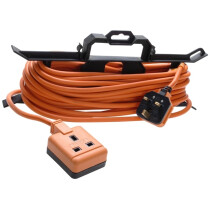 Masterplug MSTCT1513 Garden Extension Lead on an H Frame 15 Metre