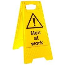 Allsigns SW18 Men at Work A-Frame Floor Standing Sign 233 x 615mm