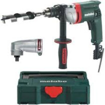 Metabo BE75-16 [+ ANGLE] 75Nm High Torque Rotary Drill + Angle Attachment and Case - 240v