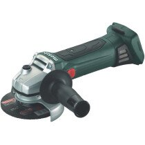 Metabo W18LTX115 Body Only 18V 115mm  Angle Grinder in Metaloc Carry Case