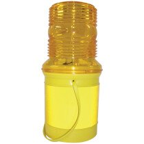 JSP LEM010-001-200 Microlite™ MK2 FNPC 130mm Flashing Hazard Light