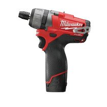 "Milwaukee M12CD-202C 12v Li-ion ""FUEL"" Screwdriver (2 x 2Ah)"