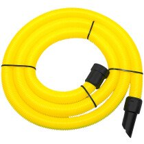 V-Tuf VTVS7000M(5) 32mm x 5m Yellow Suction Hose for Mighty Vacuum