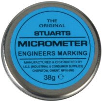 Stuarts MISENGBLUE Tin of Micrometer Marking Blue 38g