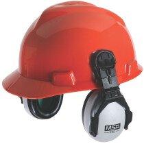 MSA SOR10012 EXC Cap Mounted Earmuff Helmet Ear Defenders (SNR 26)