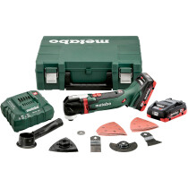 Metabo MT18LTX 18v Oscillating Multitool Kit with 2 x 4.0Ah LiHD Batteries