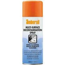 Ambersil 33339-AA Multi-Surface Decontamination Spray (>90% alcohol) 400ml