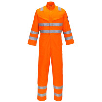 Portwest MV91 Modaflame RIS Orange Coverall Flame Resistant