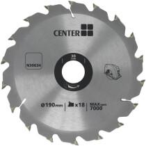 Lawson-HIS N30634 [CL] Centre Brand TCT Circular Saw Blade 190mm x 30 x 18T