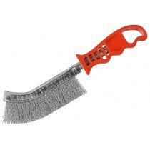 Osborn 0008462291 Wire Brush (Steel) Red Handled