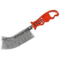 Osborn 0008462291 Wire Brush (Steel) Red Handled
