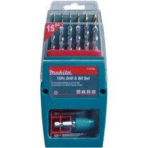 Makita P-57093 15-Piece Hex-Shank Drill & Driver Bit Set