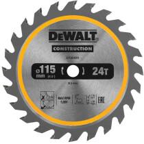DeWalt DT20420-QZ 115mm 24T 9.5mm TCT Circular Saw Blade For The DeWalt  DCS571 Compact Saw