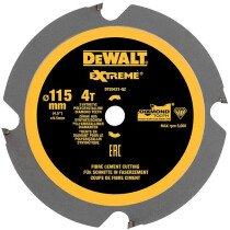 DeWalt DT20421-QZ 115 x 9.5 x 4T, Polycrystalline Diamond Circular Saw Blade For The DeWalt  DCS571 Compact Saw