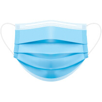 Portwest P031 Certified Type IIR 3-Ply Medical Mask Face Mask - Pack of 50 - Individually Wrapped