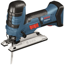 Bosch GST 18 V-LiB Body Only 18v Li-ion Barrel Handle Cordless Jigsaw in L-boxx