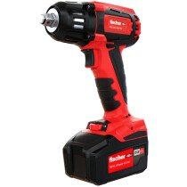 Fischer 552928 Cordless Impact Wrench FSS 400BL 18V 400 Nm With 2 x Batteries in L-Boxx