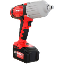 Fischer 552929 Cordless Impact Wrench FSS 600BL 18V 600 Nm With 2 x Batteries in L-Boxx