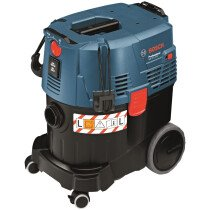 Bosch GAS 35 L SFC 35 ltr L-Class Wet & Dry Vacuum Dust Extractor with Semi-Automatic Filter Cleaning 230V