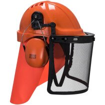 Portwest PA08 Neck Cover Orange - One Size - Pack of 5