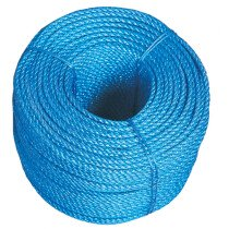 Lawson-HIS PAC054 Blue Polypropylene Rope 4mm x 220 Metre Coil
