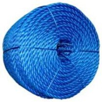 Lawson-HIS PAC055 Blue Polypropylene Rope 6mm x 220m