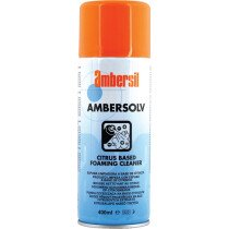 Ambersil 31597-AA Ambersolv Citrus Foam Cleaner 400ml (Carton of 12)
