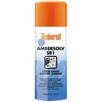 Ambersil 31598-AA Ambersolv SB1 Citrus Based Solvent Cleaner 400ml Aerosol