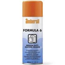 Ambersil 31535-AA Formula 6 (Six) Medium Duty Film 400ml (Carton of 12 cans)