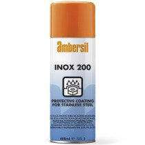Ambersil 30299-AA Inox 200 Anti Corrosion for Stainless Steel Surfaces 400ml (Carton of 12)