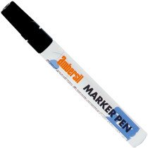Ambersil 20364-AA BLACK Paint Marker Pen