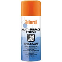 Ambersil 31627-AA Multi-Surface Spray Polish Wax and Silicone Blend 400ml