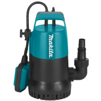 Makita PF0300/2 300w Clean Water Submersible Pump 140L/min 240v