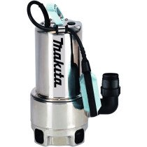 Makita PF1110/2 1100w Dirty Water Drainage Pump Stainless Steel 250L/min 240v