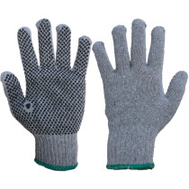 Pred Ash PVC Dot Coated/Knitted Glove