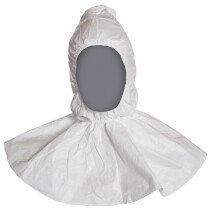 Dupont Tyvek PH30LO Protech Elasticated Cape Hood Balaclava Anti-Static