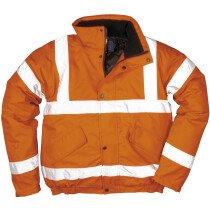 Portwest RT32 High Visibility Bomber Jacket Orange