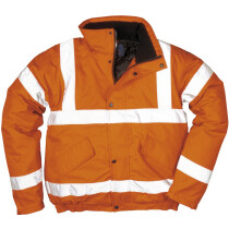 Portwest RT32 High Visibility Bomber Jacket Orange