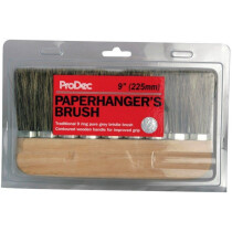"ProDec PPHB9R 9"" (240mm) 9 Ring Pure Bristle Paperhanging Brush"